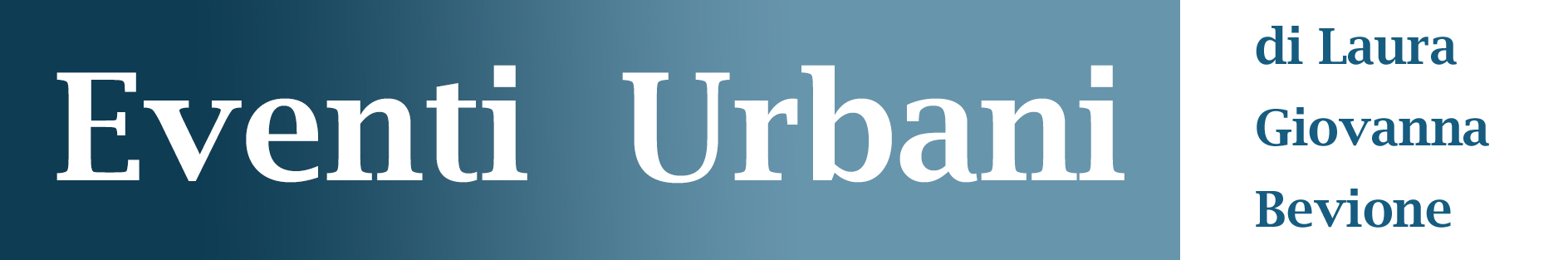 Eventi Urbani ESCAPE='HTML'