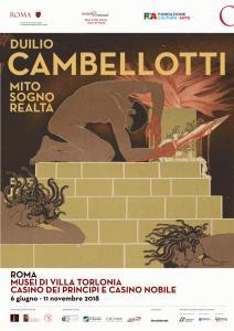 Duilio Cambellotti - Mito sogno realtà a Villa Torlonia