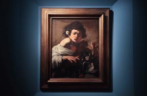 Caravaggio - Ragazzo morso da un ramarro