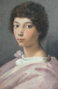 Raffaello - Ritratto di ragazzo 1513-1516