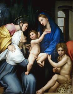 Raffaello - Madonna dell'Impannata 1511