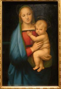 Raffaello - Madonna con il bambino (Madonna del Granduca)