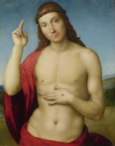 Raffaello - Cristo Benedicente 1505-1506 circa