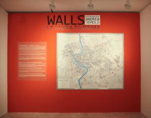 Walls. Mura di Roma - Andrea Jemolo - Ara Pacis
